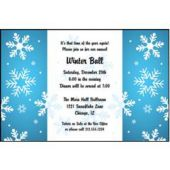 Winter Wonderland  Personalized Invitations