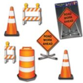 Construction Crew Cutouts-6 Pack
