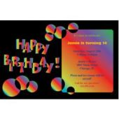 Birthday Bright Personalized Invitations