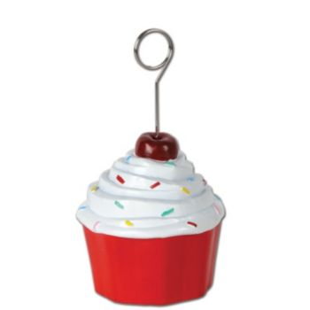 Cupcake Balloon Weight - 5 Inch