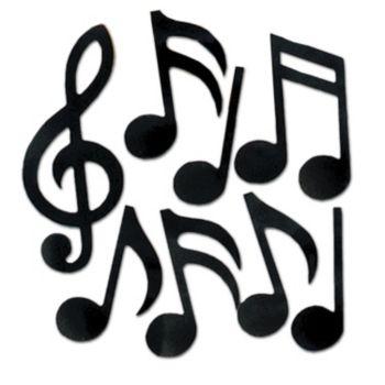 FOIL MUSIC NOTES