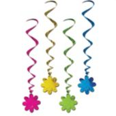 Flower Whirl Decorations-6 Per Unit