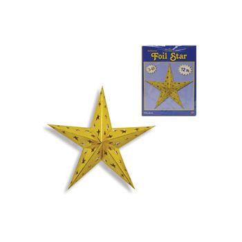 Gold 3D Star