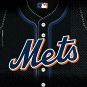 New York Mets Lunch Napkins - 36 Pack