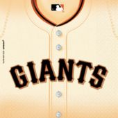 San Francisco Giants Lunch Napkins - 36 Pack