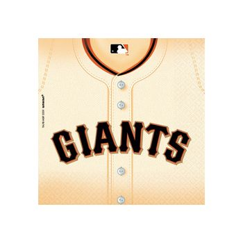 San Francisco Giants Lunch Napkins