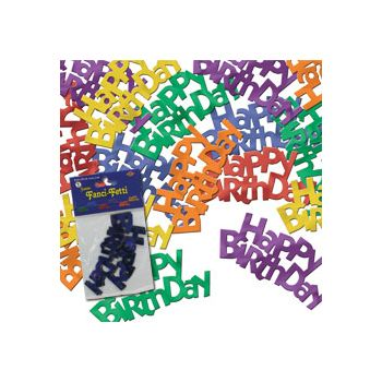 Jumbo HAPPY BIRTHDAY CONFETTI