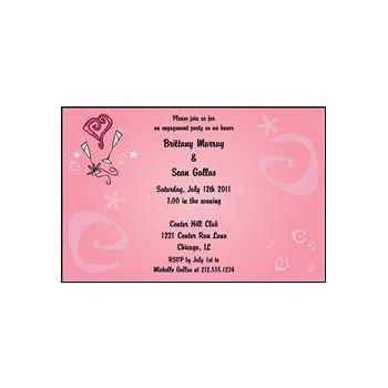 Pink Bridal hearts swirls
