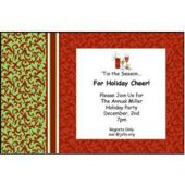 Holiday Elegant Personalized Invitations