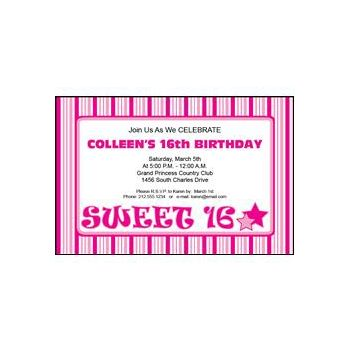 Sweet 16 All Pink