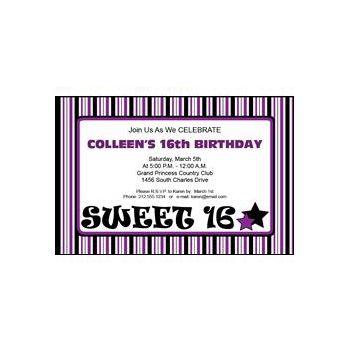 Sweet 16 purp
