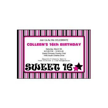 Sweet 16 Pink