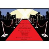 Walk The Red Carpet Personalized Invitations