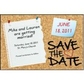 Cork Board  Save The Date