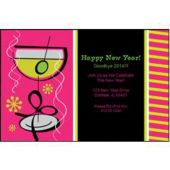 Pink Martini Personalized Invitations