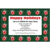 Holiday Gifts Personalized Invitations