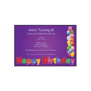 Happy Birthday Purple