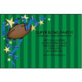 Football Fun Personalized Invitations