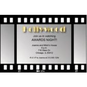 Film Strip  Personalized Invitations