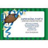 Football Sunday Personalized Invitations
