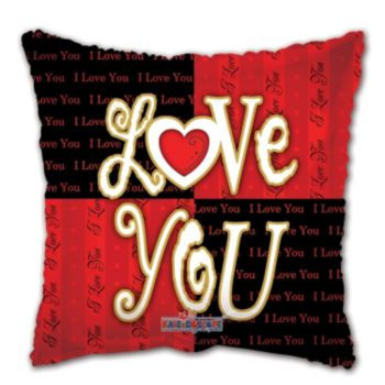 Valentine's Day I Love You Metallic Balloon - 18 Inch