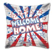 Welcome Home Troops Metallic Balloon - 18 Inch