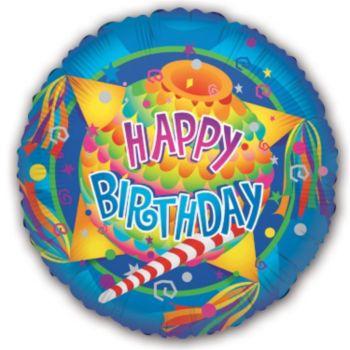 Pinata Birthday Balloons - 18 Inch, 5 Pack
