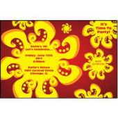 Fiesta Sun Personalized Invitations