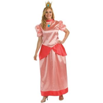 Super Mario Bros. - Princess Peach Plus Adult Costume