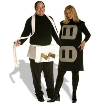 Plug & Socket Couples Set Plus  Adult Costume