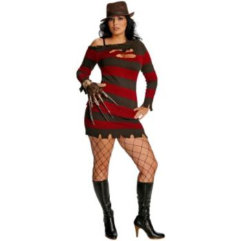 A Nightmare On Elm Street - Miss Krueger Plus Adult Costume