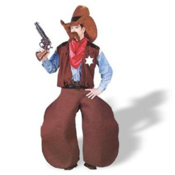 Ole Cow Hand  Adult Costume