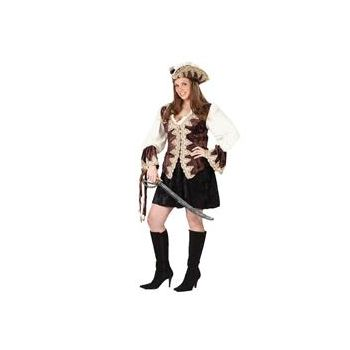 Royal Lady Pirate Plus Adult Costume