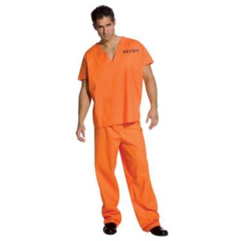 Jailhouse Jumpsuit Adult