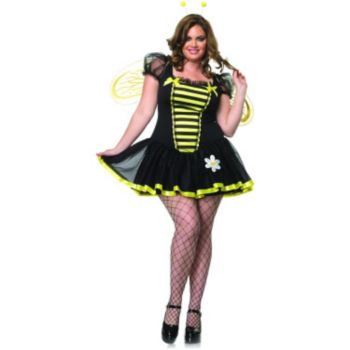 Daisy Bee Adult Plus Costume
