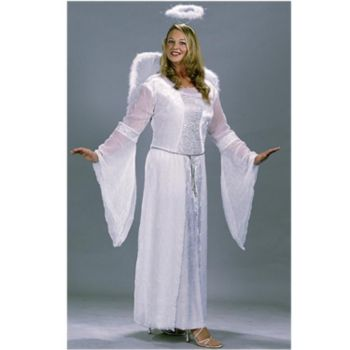 Heavenly Angel White Plus Costume