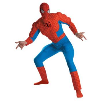 Spider-Man Deluxe Muscle Adult Costume