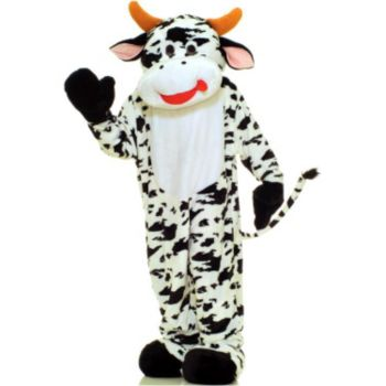 Cow Plush Economy Mascot Adult Costume