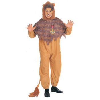 The Wizard of Oz  Cowardly Lion  Adult Costume