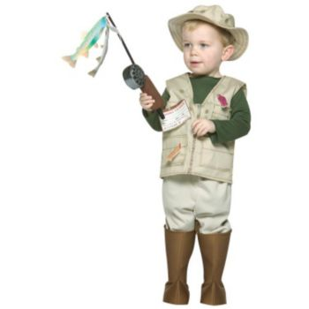 Future Fisherman Child Costume