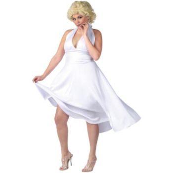 Marilyn Monroe Deluxe Classic Adult Plus Costume