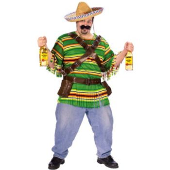 Tequila Pop N' Dude Adult Plus Costume