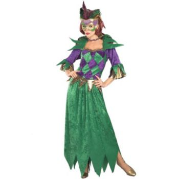 Mardi Gras Madness Adult Costume
