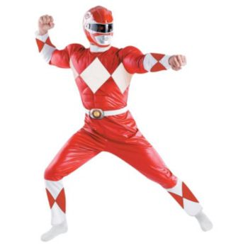 Red Ranger Classic Adult Costume