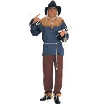 The Wizard of Oz - Scarecrow Plus Adult Costume