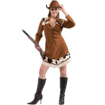 Flirty Annie Oakley Dress Costume