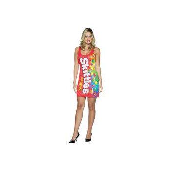 Skittles Tank Dress Adult Costume