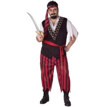Pirate Plus Size Adult Costume