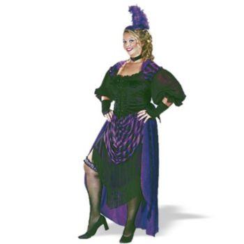 Lady Maverick Plus  Adult Costume