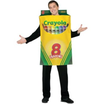Crayola Crayon Box Adult Men's Costume